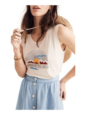 MADEWELL Camino Del Sol Whisper Cotton Muscle Tank