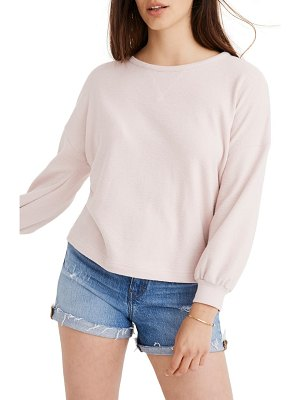 Madewell drop shoulder sweatshirt