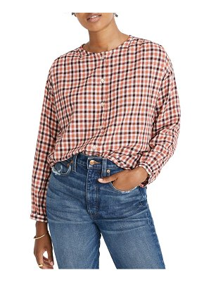 Madewell meadow check shirt