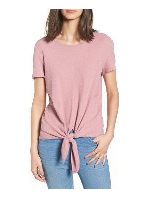 MADEWELL Modern Tie Front Tee