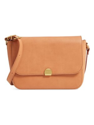 Madewell the abroad leather shoulder bag