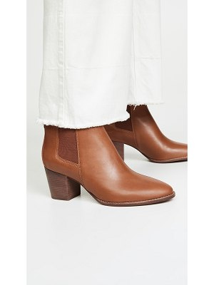 Madewell the baine block heel booties
