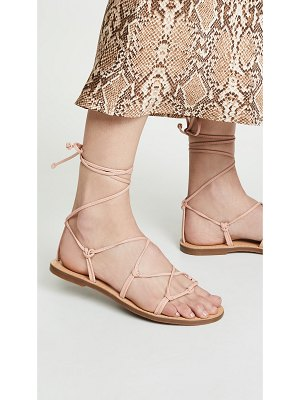 Madewell the boardwalk lace up sandals