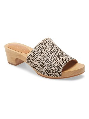 Madewell the evelyn slide clog