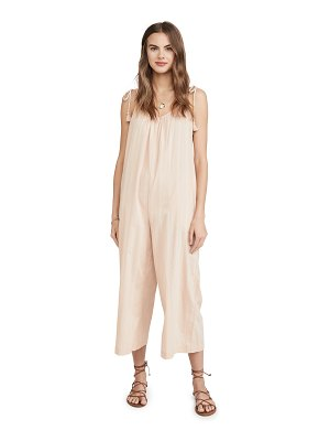 Madewell tie strap cover up jumpsuit