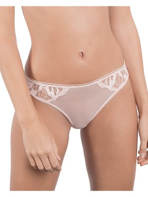 MAISON LEJABY Sin Embroidered Tanga