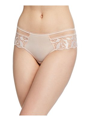 MAISON LEJABY Sin Embroidered-Trim Boyshorts