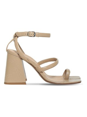 MAISON MARGIELA 90mm leather toe ring sandals
