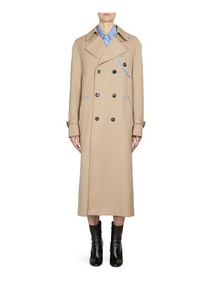 MAISON MARGIELA double-breasted trench coat