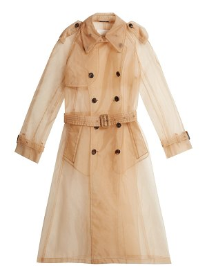 MAISON MARGIELA organza trench coat