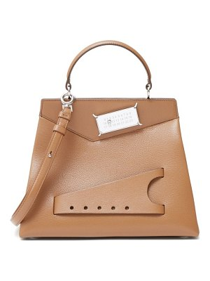 MAISON MARGIELA snatched leather bag