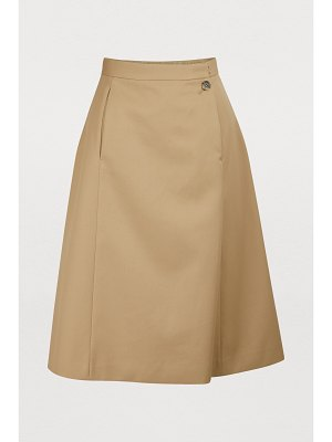 MAISON MARGIELA Technical cotton skirt