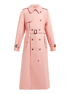 MAISON MARGIELA x mackintosh cotton gabardine trench coat