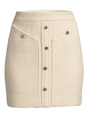 Maje mini tweed pencil skirt