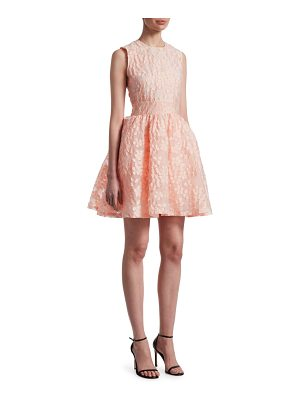 Maje rex lace fit-&-flare dress