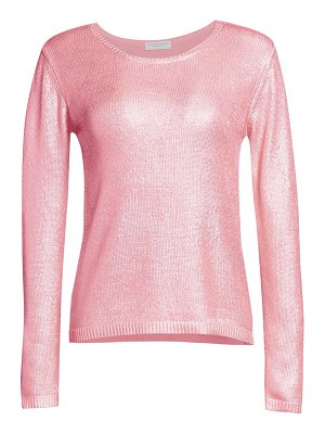 Majestic Filatures meatllic silk knit sweater