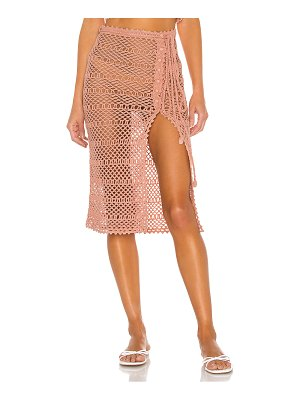 MAJORELLE adair crochet skirt