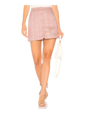 MAJORELLE Ariah Mini Skirt