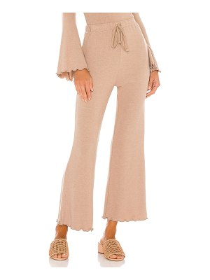 MAJORELLE cropped flare pant