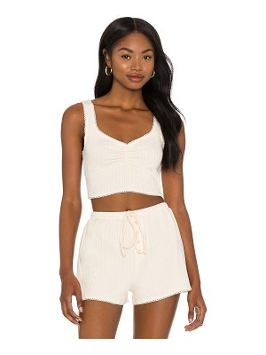 MAJORELLE dayna cropped tank