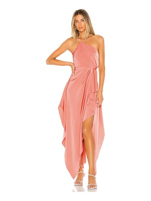MAJORELLE emery gown