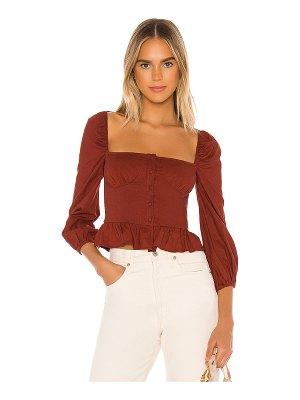 MAJORELLE harriet top