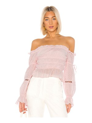 MAJORELLE harrison top