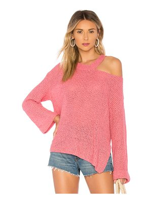 MAJORELLE Shoulder Cut Out Sweater