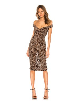 MAJORELLE Tabitha Midi Dress