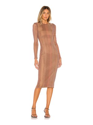 MAJORELLE weston midi dress