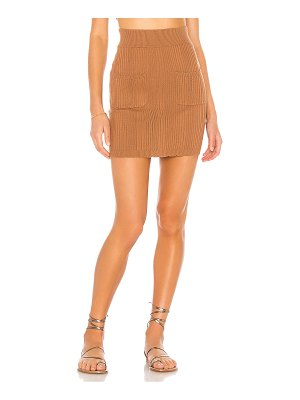 MAJORELLE zena knit skirt