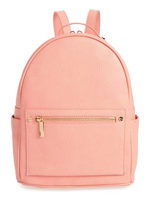 Mali + Lili addie vegan leather backpack