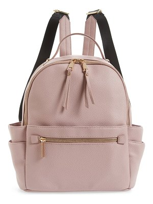 Mali + Lili isabel vegan leather backpack