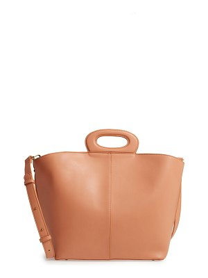 MALIBU SKYE large faux leather tote