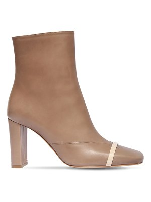 MALONE SOULIERS 85mm lori leather ankle boots