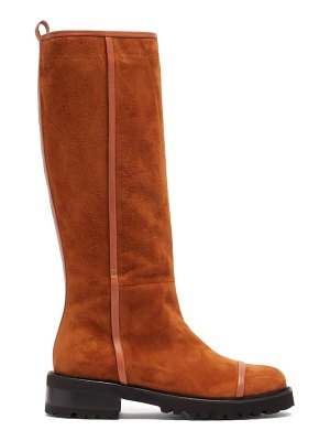 MALONE SOULIERS beda suede knee-high boots