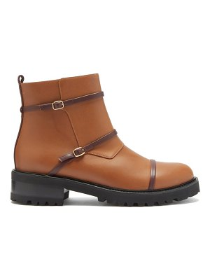 MALONE SOULIERS brodie trek-sole leather boots