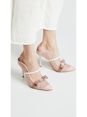 MALONE SOULIERS BY ROY LUWOLT marguerite 100mm mules