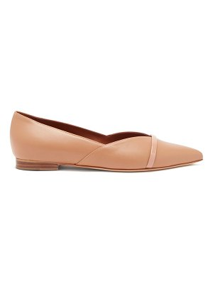 MALONE SOULIERS colette point-toe nappa-leather flats