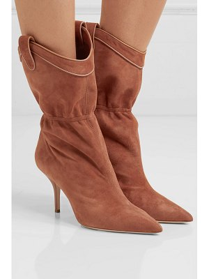 MALONE SOULIERS daisy 70 suede ankle boots
