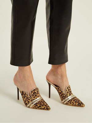 MALONE SOULIERS BY ROY LUWOLT Hayley Calf Hair Mules