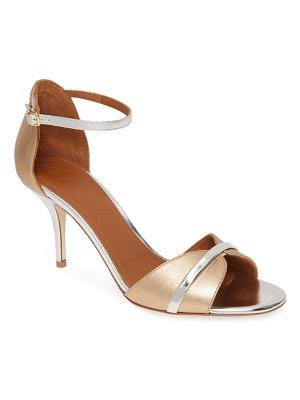 MALONE SOULIERS honey ankle strap sandal