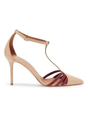 MALONE SOULIERS ila point-toe leather pumps