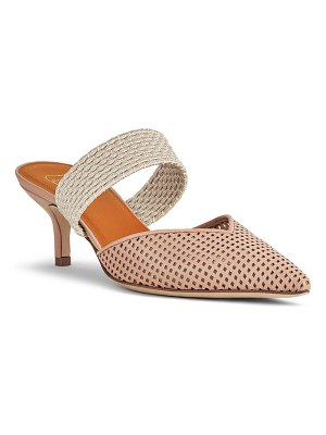 MALONE SOULIERS Maisie Perforated Leather Mules