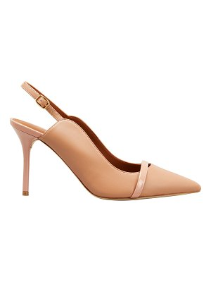 MALONE SOULIERS Marion 85mm Leather Slingback Pumps