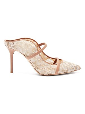 MALONE SOULIERS maureen floral-lace mules
