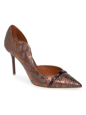 MALONE SOULIERS morrisey wave half d'orsay pump