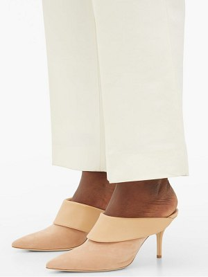 MALONE SOULIERS tilly suede-leather mules