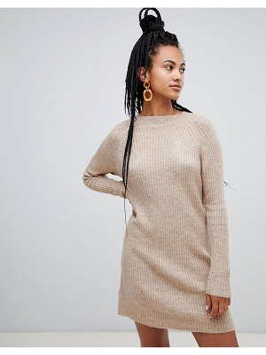 MANGO sweater dress ribbed