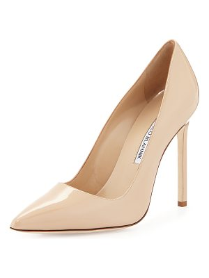 MANOLO BLAHNIK Bb Patent 115mm Pump